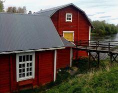 Kriikun museovesimylly. - Museum watermill Kriikku. - Ylistaro, Finland.