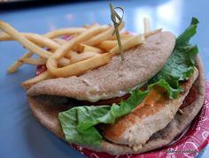 Grilled chicken wrap Liberty Inn