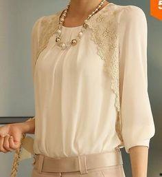2014 Fashion New Women Embroidery Long-sleeved Chiffon Shirts Lace Blouse Lady Casual Basic Shirt Women's clothing CS9093