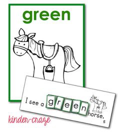 Making Color Words FUN for All {FREEBIE} - Kinder Craze