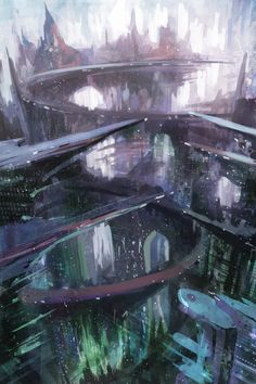 Future City  by alextooth in Alextooth Artwork
