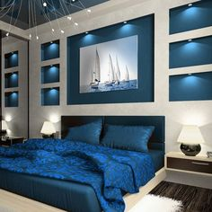 If you enjoy flipping through décor magazines to keep up with the latest trend in bedroom design, you must already … Bedroom Cupboard Designs, Wardrobe Design Bedroom, Bedroom Wall Designs, Luxury Bedroom Furniture, Luxury Bedroom Design, Master Bedroom Design, Bedroom Colors, Bedroom Decor, Bedroom False Ceiling Design