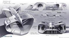 Robocar sketches by Daniel Simon