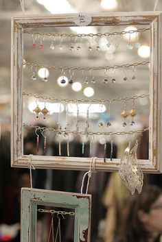 Earrings display- craft fairs