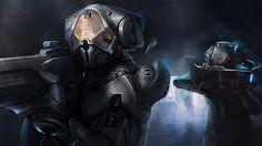 Forerunner Promethean Warrior-Servant by Dustiniz117.deviantart.com on @DeviantArt