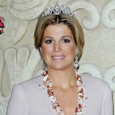 The Royal Order of Sartorial Splendor: Máxima's Tiaras-worn by Princess Maxima 13. Queen Emma's Diamond Tiara