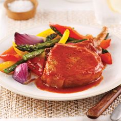 Côtelettes de porc barbecue et érable pour sacs à congeler - Je Cuisine