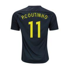 Camiseta P. Coutinho Brasil 3ª Equipación 2017/2018 Sports, Tops, Fashion, Brazil, T Shirt Store, Sweatshirts, Hs Sports, Moda, Fashion Styles