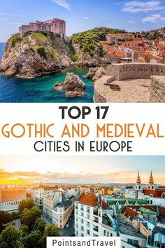 Top 17 Gothic and Medieval Cities in Europe. Some of the most famous structures are found in old cities such as Notre Dame in Paris, France, Cologne Cathedral in Cologne, Germany, and the Florence Cathedral in Florence, Italy. But here are the top 17 Gothic and medieval cities in Europe you must visit. medieval gothic architecture | europe cities | europe travel | best places to visit in europe | Gothic Buildings, Gothic Architecture, Famous Structures, Florence Cathedral, Medieval Gothic, Europe Bucket List, Romantic Paris, Roman City, Cologne Germany