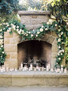 Greenery and Floral Garland Wedding Decoration: Take a look at these pretty greenery and Floral Garland Wedding ideas for decorating a wedding with garland. Floral Garland, Flower Garlands, Greenery Garland, Garland Wedding, Wedding Ceremony, Santa Barbara, Altar, Floral Wedding, Wedding Flowers