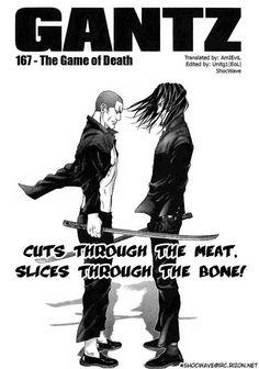 Gantz 167 Page 1