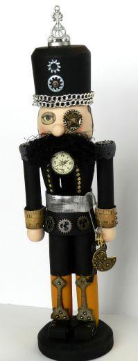 Artful digits: Steampunk Nutcracker