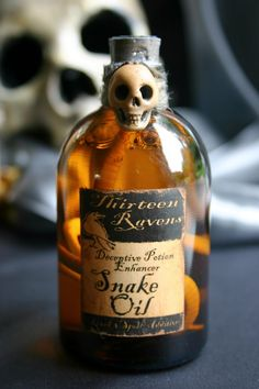 Hoodoo Magick Rootwork:  #Snake #Oil, by deadspider.