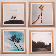 Home made greeting cards using Artifact Uprising photo printing// The Clever Bunny  www.artifactuprising.com/site/home