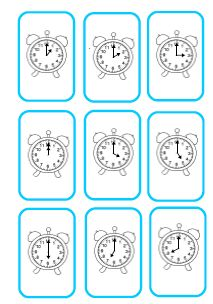 Jeux pour lire l'heure - Fée des écoles - Learning to Tell Time Learn To Tell Time, Learn To Count, Time Games, Class Activities, Learning Clock, Kids Learning, Core French, Teaching Time, 3rd Grade Math