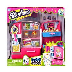 Shopkins So Cool Fridge Playset http://www.amazon.com/Shopkins-So-Cool-Fridge-Playset/dp/B00PD8EXOI/ref=aag_m_pw_dp?ie=UTF8&m=A3OUR5IZQ7H6K6