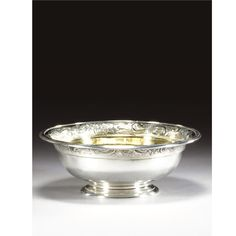 A William IV silver bowl, Paul Storr, London, 1835 Silver Pooja Items, Silver Lamp, Diwali, Temples, Kitchenware, Indian Jewelry, Decorative Bowls, Gold Jewelry, Fashion Jewelry