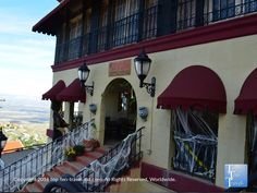 """Nice Halloween decor at the Jerome Grand Hotel, one of the most haunted places in Arizona. It was even featured on """"Ghost Adventures."""""""