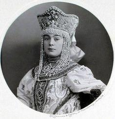Княгиня Bѣpa Максимилiановна Кудашева, рожд. Графиня Ниродъ (Боярыня XVII вѣка)