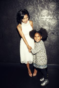 Grammy dinner with my baby :) - Photo: Courtesy of Jhené Aiko