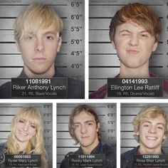 I love Ellington's <3 scrunched up face. And Ross <3 and Rydel <3 are smiling like they don't have a care in the world. :D :) ;)