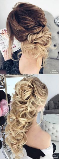 cool 54 Gorgeous Wedding Hairstyles Ideas For You http://www.lovellywedding.com/2018/03/22/54-gorgeous-wedding-hairstyles-ideas/