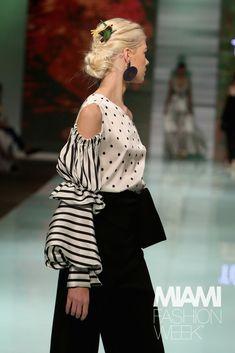 White Fashion, Pink Fashion, Couture Fashion, Fashion Dresses, Womens Fashion, Fashion Fashion, Fashion Week 2018, Fashion 2020, Miami Fashion