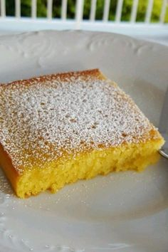 "Magic Cake | ""Loved it! It is a unique custard and cake combination."" #cakerecipes #bakingrecipes #dessertrecipes #cakes #cakeideas"
