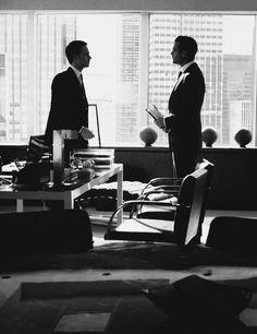 Gabriel Macht (Harvey Specter) & Patrick J. Adams (Mike Ross)