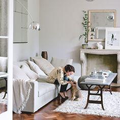 Living area | Step inside a spiritual and timeless family home | House Tours | PHOTO GALLERY | Livingetc | Housetohome