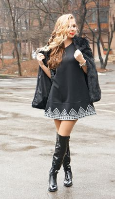 #allblack #sheinside #blondie #blackoutfit All Black, My Style, Lady, Heels, Fashion, Heel, Moda, Fashion Styles, Black