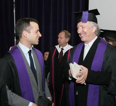 May 2009 -- Alan Rickman named Honorary Fellow of University of the Arts. London.