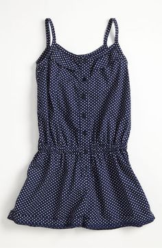 Tucker + Tate 'Lucie' Romper (Little Girls) available at Nordstrom