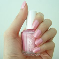 Essie Pink Diamond. like my favorite polish color