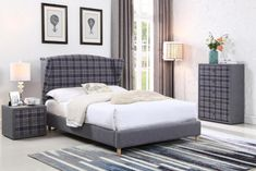 Joslyn Upholstered Bed Frame Alpen Home Size: Kingsize - Size: Kingsize Bed Frame With Mattress, King Bed Frame, Bed Frame With Storage, Fabric King Size Bed, King Size Sheets, Fabric Beds, Velvet Upholstered Bed, Upholstered Bed Frame, King Size Platform Bed