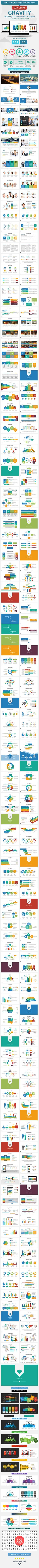 stampede multipurpose powerpoint template pinterest business