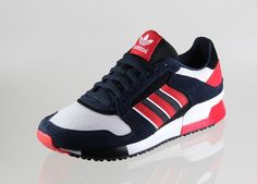 adidas Originals ZX 630   Legend Ink / Black   Collegiate Red