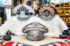 Silver and Gold Festival Hat, Burning Man Hat with Sequin and Rhinestones, Mardi Gras and Parade Headpiece, Accessory for Alternative Events Festival Hats, Festival Fashion, Army Hat, Steampunk Hat, Boho Hat, Costume Hats, Hat For Man, Burning Man, Mardi Gras