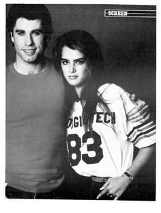 John Travolta & Brooke Shields