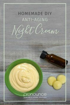 Anti-Aging Night Cream Recipe • pronounceskincare.com