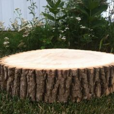 """Got these for table decorations or dessert display? THREE 8-10"""" Rustic Wedding Centerpiece Slice Wood Disc Tree Log Round LARGE"""