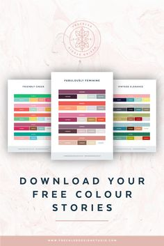 freckled design studio lorin galloway branding brand styling packaging design cape town south africa blog creative entrepreneur small business owner solopreneur mompreneur creatives the power of colour in design color psychology colour infographic free colour color stories for your blog or business adobe swatch exchange download