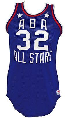 64902c4d0 1976 Dr. J Julius Erving ABA All-Star Game Game-Used   Slam Dunk Contest  Worn Uniform