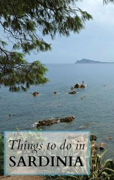 What to do beyond visiting the beaches on a holiday in Sardinia, Italy.