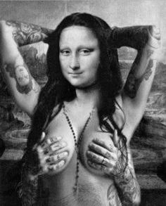 Mona Lisa gone wild