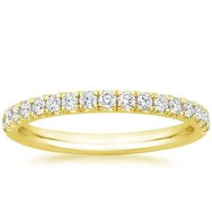 http://www.brilliantearth.com/Amelie-Diamond-Ring-%281/3-ct.-tw.%29-Gold-BE2M1056/ 18K Yellow Gold Amelie Diamond Ring (1/3 ct. tw.), top view