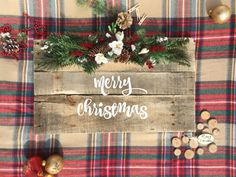"""Add a beautiful Farmhouse touch with this gorgeous Christmas Wooden Decoration. This wooden sign would be beautiful on the mantel or wall. It would make the perfect Christmas gift for any friend or family member!  ~Product Specifics~ ➢ Height - 24"""" ➢ Width - 14"""" ➢ Thickness - 1-3 ➢ Weight - up to 5 lbs ➢ Note - Includes two keyhole hangers  ++++++++++++++++++++++++++++++++++++++++++++++++++++++++++++++++++  THE THREE R APPROACH  ~Reclaimed~ ➢ From old doors to fresh pine, these boards were…"""
