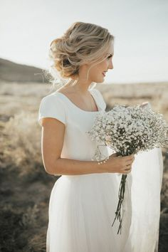 Beautiful Jill and her husband.   Hair and makeup by Steph.   Photos by Kelsie EmM   Dress from  Janay Marie                                ...
