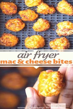 #Mac #and #cheese #bites #perfect #macaroniandcheese macaroniandcheese airfryerrecipes delicious appetizer airfryer leftover perfect cheese bites these snack fryer fried air for Air Fryer Mac and Cheese Bites These Air Fryer Mac and Cheese Bites are the perfect way to use leftYou can find Mac and cheese bites and more on our website Air Fryer Oven Recipes, Air Fryer Dinner Recipes, Fried Macaroni And Cheese, Macaroni And Cheese Balls Recipe, Queso Frito, Mac And Cheese Bites, Keto Mac And Cheese, Air Fried Food, Pasta
