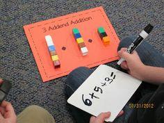 New Adventures in First Grade: Math
